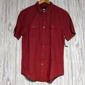 Men's Red Shirt